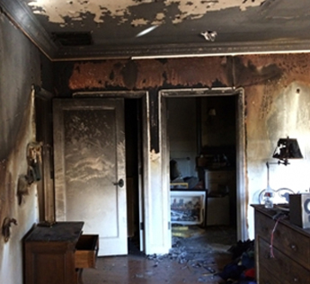 Restore your home to  new with our fire damage restoration service