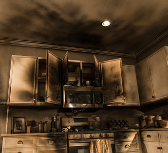 Damage caused by fire to your home can be restored back to new with our fire damage restoration services